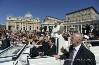 Pope Francis Jubilee Audience: Mercy and conversion