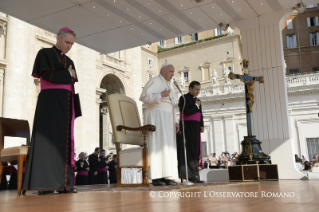Pope Francis General Audience:  Learn from me